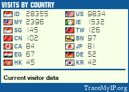 Visits Ip Addresses Tracker